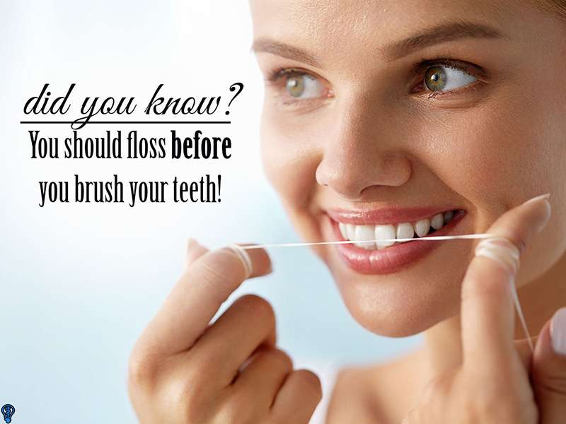 Brushing And Flossing Make A Great Team